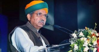 बाबा साहब की हर सोच,हर काम में राष्ट्र निर्माण की भावना- अर्जुन राम मेघवाल
