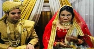 शादी के बंधन में बंधे टीना डाबी और अतहर आमिर