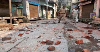 मुज़फ़्फ़रनगर में दलित युवती से छेड़छाड़ का विरोध करने पर भड़की जातीय हिंसा, 18 लोग घायल, पुलिस बल तैनात