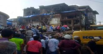 मुंबई में पांच मंजिला इमारत ढही, 24 की मौत, 12 घायल