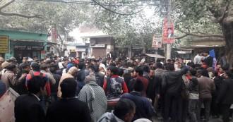 गाज़ियाबाद में प्रशासन और पुलिस ने कोर्ट परिसर से हटाई डॉ. अंबेडकर की प्रतिमा, वकीलों और दलित समाज में रोष