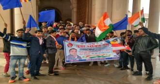 देशभर में अंबेडकरवादियों ने 'संविधान दिवस' के रूप में मनाया 69वां गणतंत्र दिवस