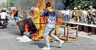 बीजेपी शाषित राज्यों में हुए सबसे ज्यादा सांप्रदायिक दंगे,  पिछले साल हुए 822 दंगों में 111 की मौत, 2384 लोग घायल