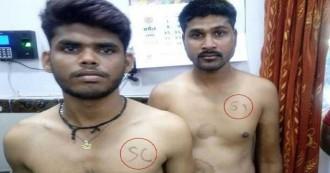 मध्य प्रदेश सरकार का सामने आया जातिवादी चेहरा, पुलिस भर्ती प्रक्रिया के दौरान आरक्षित श्रेणी के अभ्यर्थियों के सीने पर लिखा एससी/एसटी