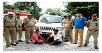 भाजपा नेता निकला गौमांस का सप्लायर, दो गिरफ्तार, स्कॉर्पियो ज़ब्त, मीडिया में ख़बर आने के बाद पुलिस को करनी पड़ी कार्यवाही