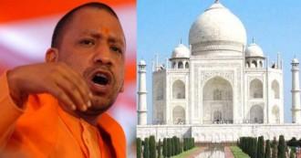 ताजमहल पर उलझी योगी सरकार, आगरा दौरे के बहाने लिपापोती की कोशिश...