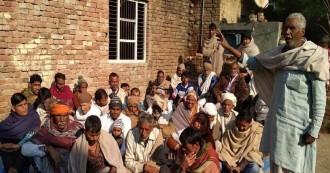 बागपत में अनुसूचित जाति के लोगों ने दी चेतावनी- 'हमारी जमीन नहीं मिली तो कर लेंगे धर्म परिवर्तन'