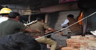 आजमगढ़ : पटाखे के गोदाम में लगी आग, 5 लोगों की मौत, 10 झुलसे