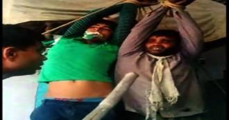 यूपी : हापुड़ में दबंगों ने दिखाई बर्बरता, दिव्यांग समेत 2 दलित युवकों को बांध कर बुरी तरह पीटा, दिव्यांग का अंगूठा भी काटा