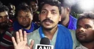 UPDATE- 16 महीने बाद चंद्रशेखर उर्फ रावण जेल से रिहा, 2019 में बीजेपी को उखाड़ फैंकने का किया आह्वान