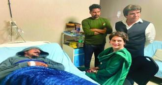 चंद्रशेखर से अस्पताल में  मिलने पहुंची प्रियंका गांधी