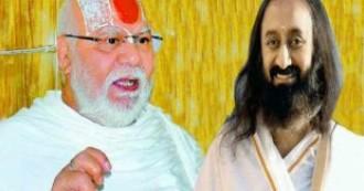 अयोध्या विवाद : महंत ज्ञानदास ने श्री श्री रविशंकर को लगाई फटकार