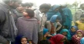 उत्तरप्रदेश- रिकवरी एजेंट ने दलित किसान को ट्रेक्टर से कुचला