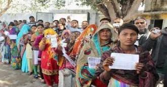 यूपी नगर निकाय चुनाव में पहले चरण के लिए  52.85 फीसदी हुई वोटिंग, दूसरा चरण 26 नवंबर को