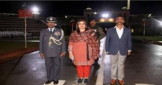 वाघा बॉर्डर से भारत पहुँचे विंग कमांडर अभिनंदन, हुआ शानदार स्वागत