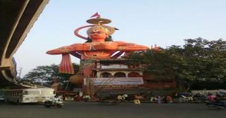 दिल्ली- 108 फीट ऊंची हनुमान की मूर्ति हो सकती है एयरलिफ्ट, हाईकोर्ट ने दिया री-लोकेट करने का सुझाव