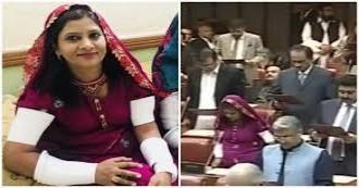 पाकिस्तान में पहली हिन्दू दलित महिला कृष्णा कुमारी कोल्ही ने ली सीनेट सदस्यता की शपथ