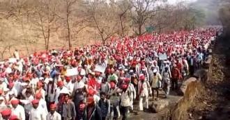 महाराष्ट्र में तेज हुआ किसानों का आंदोलन,नासिक से मुंबई के लिए कूच कर रहे हैं हजारों किसान, 12 मार्च को करेंगे विधानसभा का घेराव