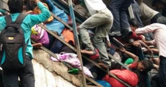 मुंबई- एलफिंस्टन रेलवे स्टेशन के फुटओवर ब्रिज पर भगदड़, 22 की मौत, 39 घायल