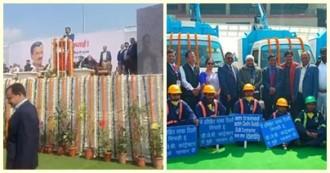 दिल्ली में सीएम ने सफाई कर्मियों को दिया तोहफा, सीवर की सफाई के लिए 200 आधुनिक मशीनों को दिखाई हरी झंडी