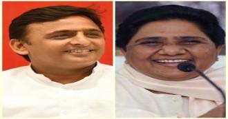 गोरखपुर-फूलपुर के चुनावी नतीजों के बाद यूपी में बदली सियासी फिजा, लखनऊ में अखिलेश यादव ने मायावती के घर जाकर दी जीत की बधाई