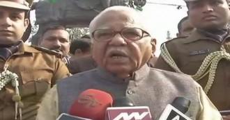 UDPATE- राज्यपाल राम नाइक ने कासगंज हिंसा को  बताया कलंक, योगी सरकार पर बरसीं मायावती