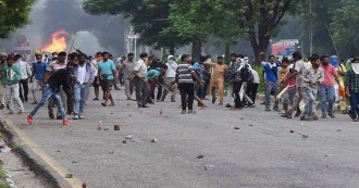 UPDATE- डेरा प्रमुख दोषी करार, फैसले के बाद समर्थकों ने मचाया तांडव