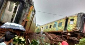 मुंबई-नागपुर दूरंतो एक्सप्रेस पटरी से उतरी,पांच लोगों के घायल होने की ख़बर